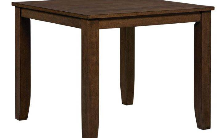 Pub Table Standard Furniture Vintage Counter Height Dining