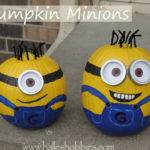 Pumpkin Painting Minion Minions Halle Hobbies
