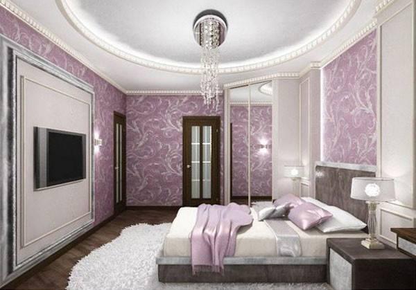 Purple Bedrooms Adults Modern Bedroom