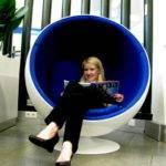 Purple Bubble Chair Susu Paris Chic
