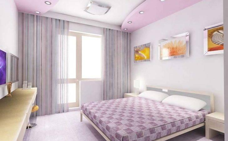Purple Pop False Ceiling Designs Bedrooms Illuminating
