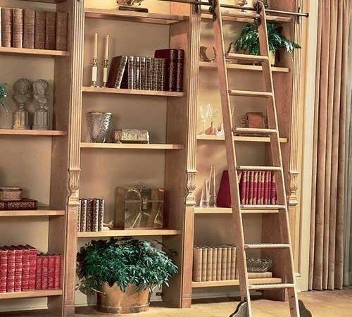 Putnam Custom Order Library Rolling Ladder System Modern Ladders
