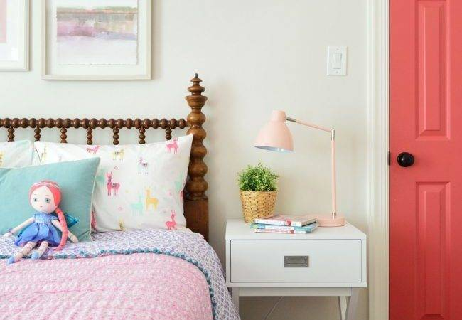 Puts Year Old Bed Little Girl Room