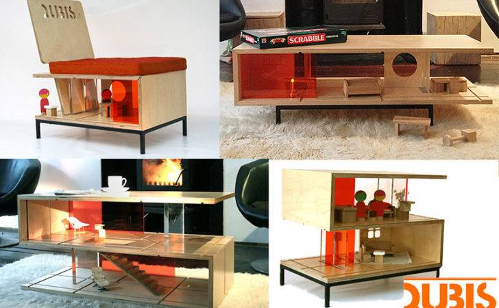 Qubis Amy Whitworth Modern Doll Houses Double Furniture