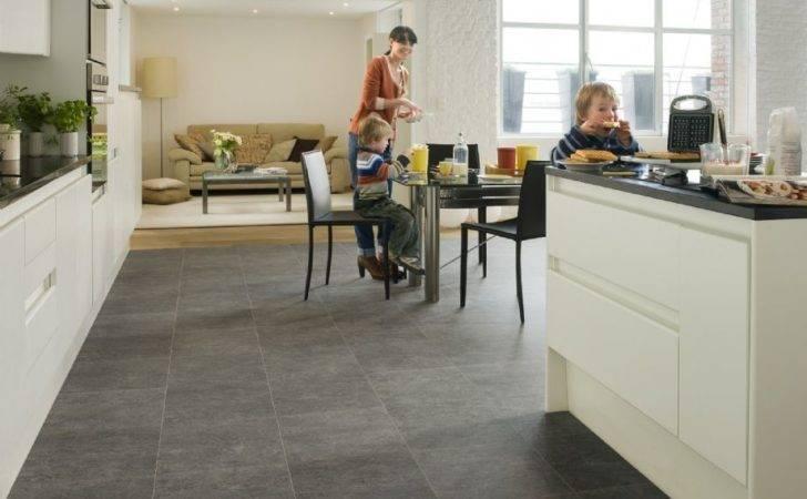 Quick Step Exquisa Slate Dark Exq Tile Effect Laminate Flooring