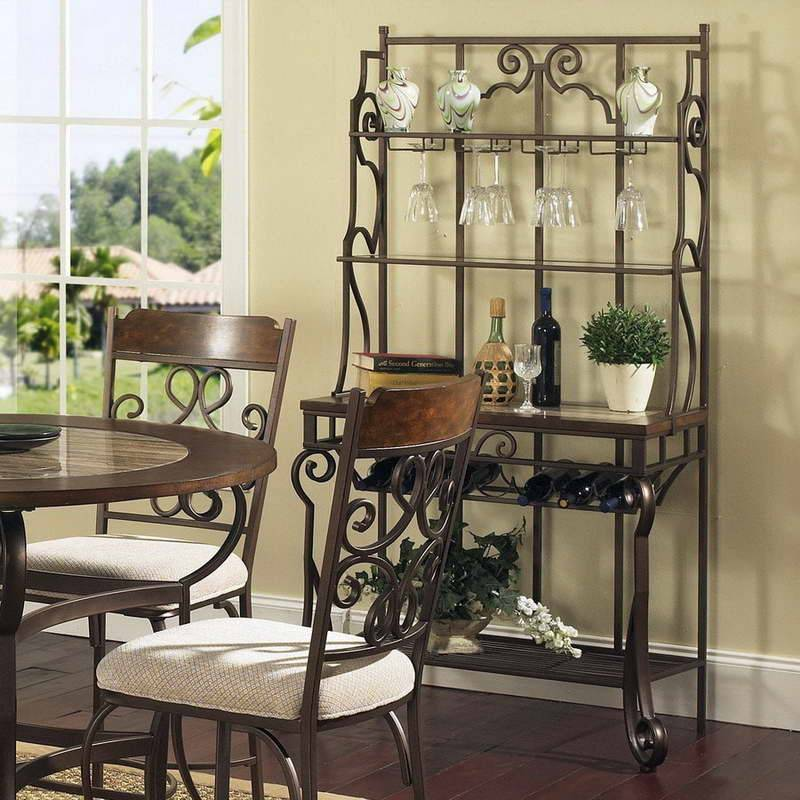 Quite Old Bakers Rack Decorating Ideas Your Kitchen