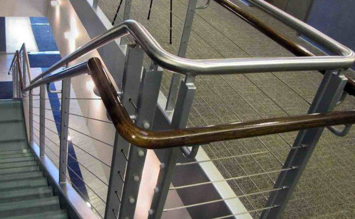 Rail Cable Guard Wooden Hand Stainless Steel Rails