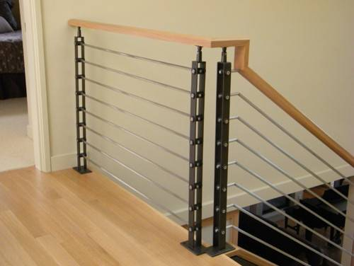 Railing Contemporary Staircase Seattle Issaquah Cedar