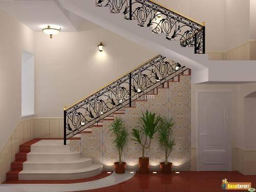 Railings Staircase Stair Railing Design Wrought Iron