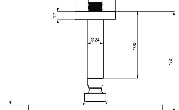 Rain Shower Ceiling Suspension Technical Details