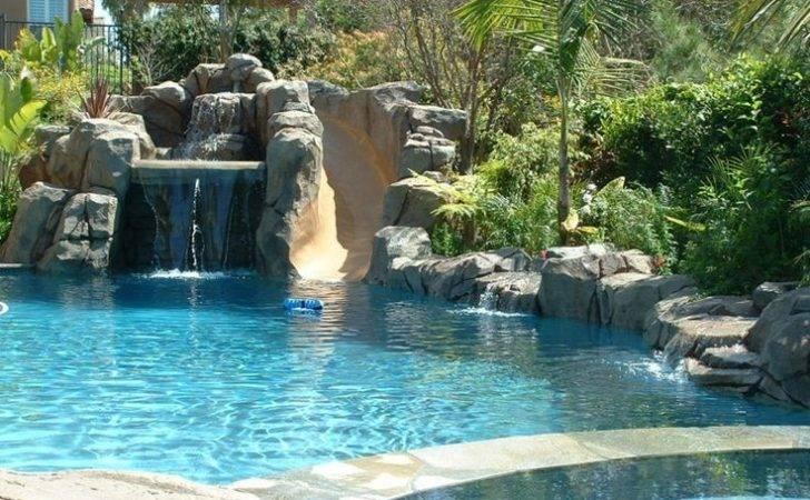 Raised Spa Pool Pinterest Waterfalls Rock Pools