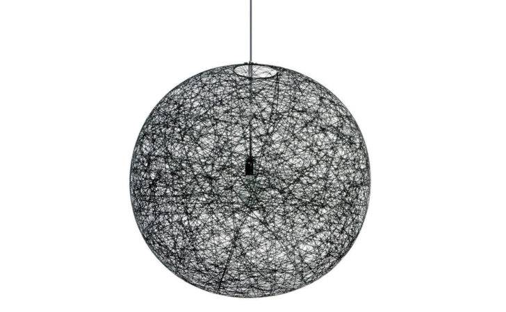 Random Light Small Black Suspension Lamp Bertjan Pot Moooi