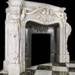 Rare Monumental Highly Ornate French Rococo Statuary