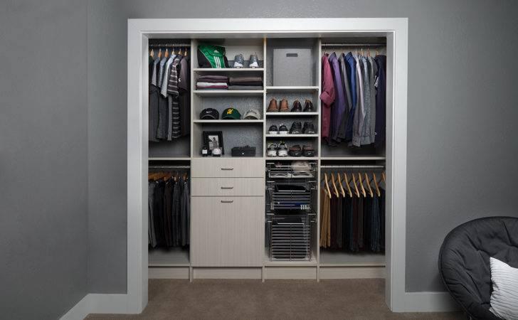 Reach Closet Design Ideas