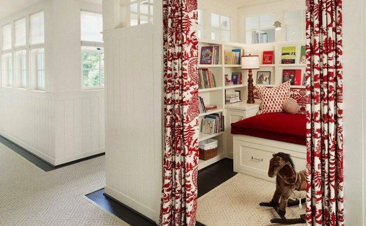 Reading Nook Transitional Girl Room Dillon Kyle Architecture
