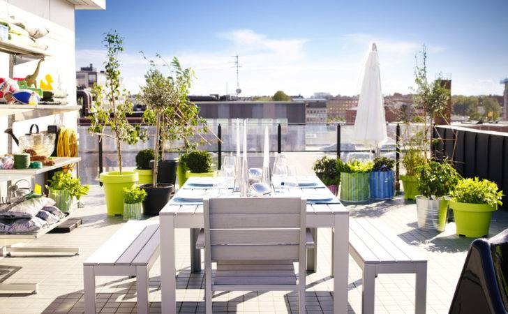 Ready Set Spring Into Ikea Outdoor Furniture Collection