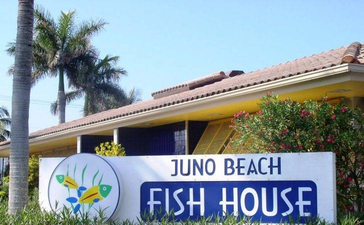 Real Estate Lifestyle Juno Beach Fish House Great Food