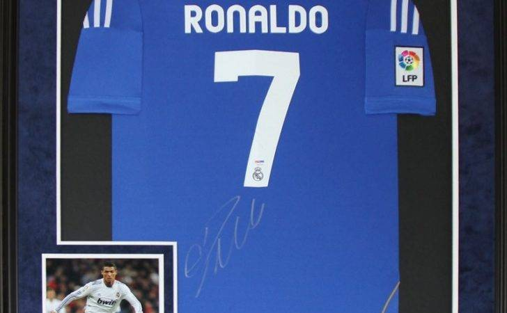 Real Madrid Signed Jersey Frame