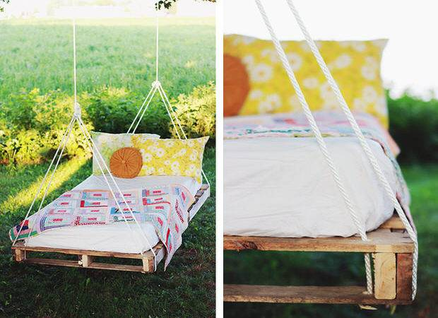 Really Like Pallet Swing Bed Over Merry Thought They