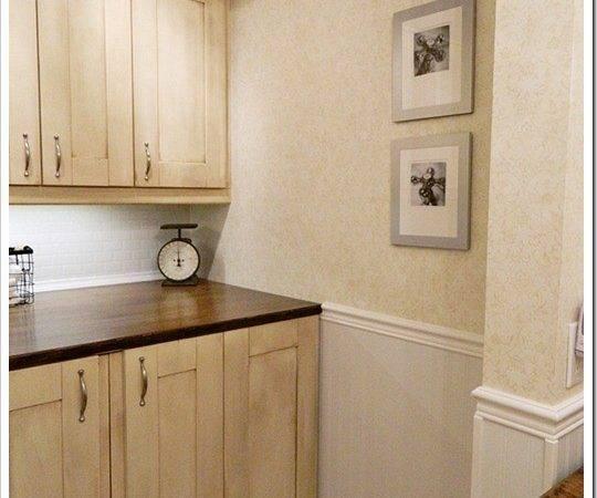 Recaptured Charm Diary Laundry Powder Room Reveal