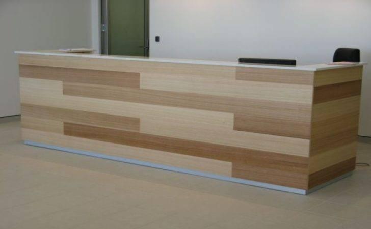 Reception Area Furniture Counter Design Custom