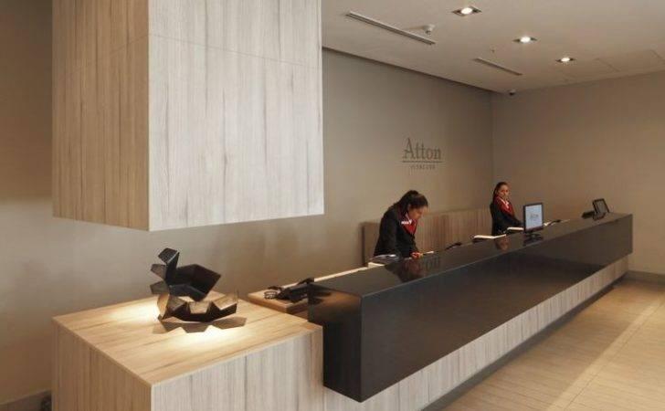 Reception Desks Featuring Interesting Intriguing Designs