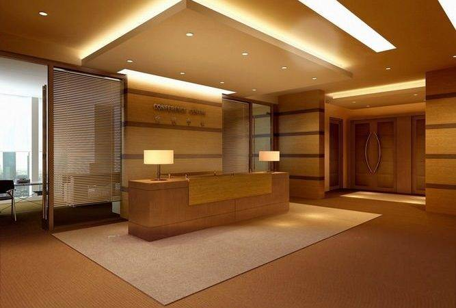 Reception Hall False Ceiling Model Max Cgtrader