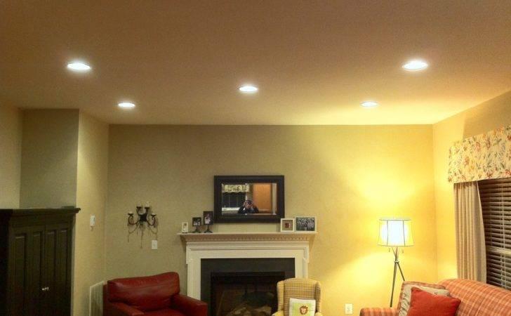 Recessed Light Living Room Alexandria