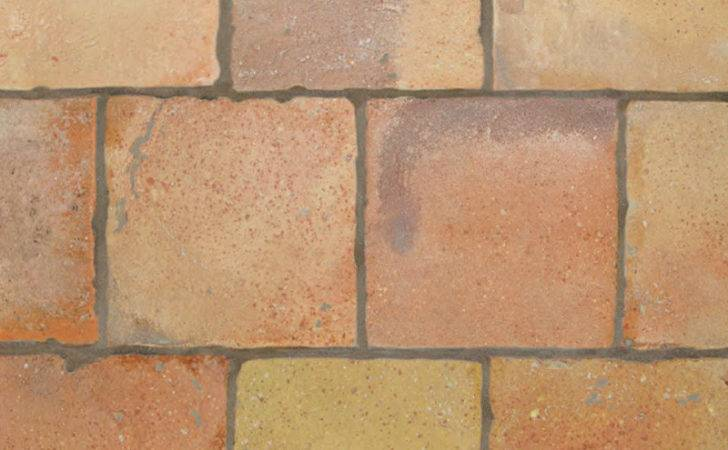 Reclaimed Natural Square Terracotta Tiles Country Floors