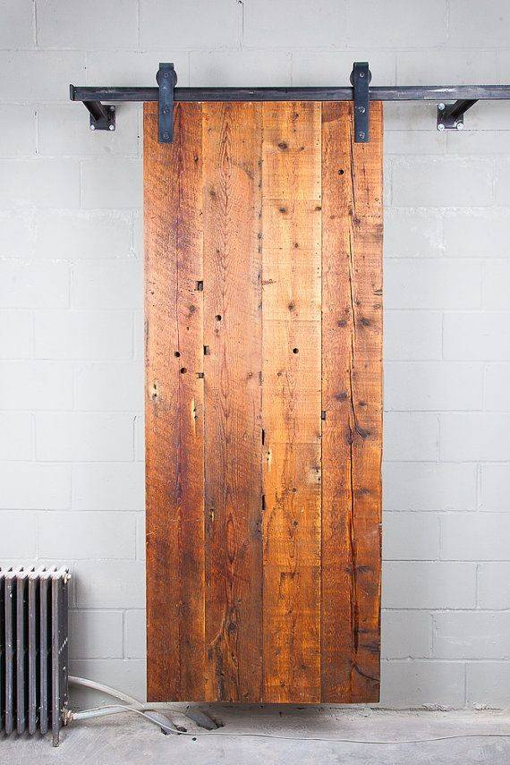 Reclaimed Sliding Barn Door Wood Carolina Pine