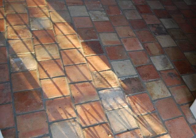 Reclaimed Terracotta Tiles Mediterranean Floor
