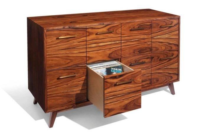 Record Cabinet Vinyl Lps Atocha Design Eight Drawers