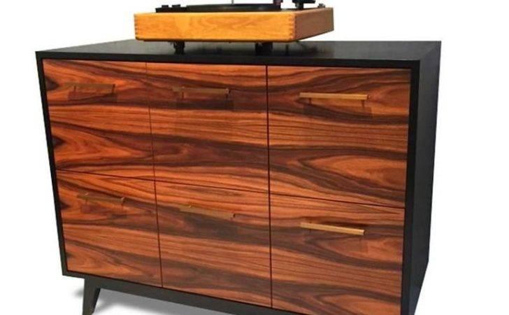 Record Cabinet Vinyl Lps Atocha Design Six Drawers Sale
