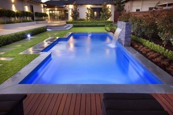 Rectangle Pool Shape Comes Range Sizes Barrier