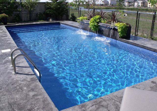 Rectangular Pool Designs Also Stainless Steel Above Ground Lad