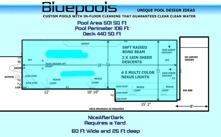 Rectangular Pool Steps Long Side