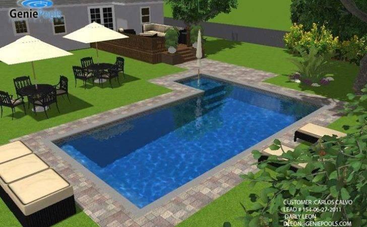 Rectangular Pools Pool Designs Estimates Miami Genie