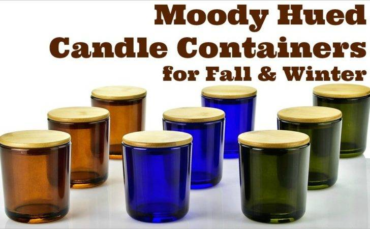 Recycled Glass Candle Containers Rich Colors Guaranteed