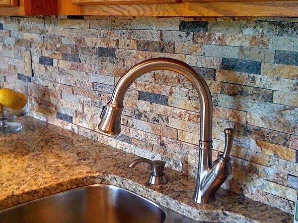 Recycled Granite Blue Ridge Split Stone Tiles Pavers