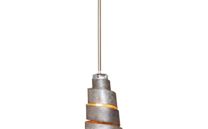 Recycled Spiral Wine Hoop Pendant Light Fixture Barrel Lamp