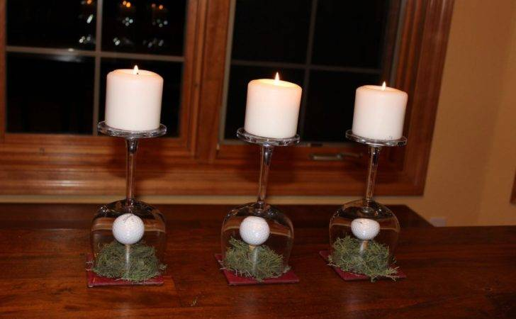 Recycled Wine Glasses Fall Glass Centerpieces Momcrieff