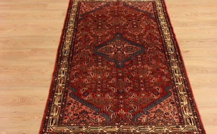 Red Antique Persian Floor Carpet High End Handmade Wool Oriental Rugs
