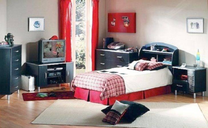 Red Bedroom Boys Home Design