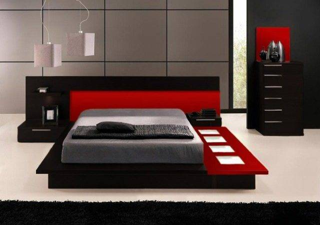 Red Black Bedroom Set Ideas