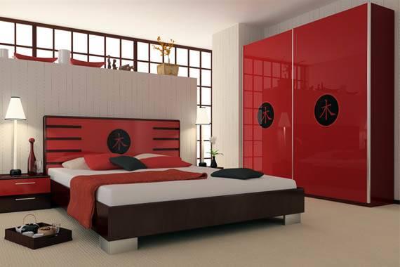 Red Black Bedrooms Bedroom