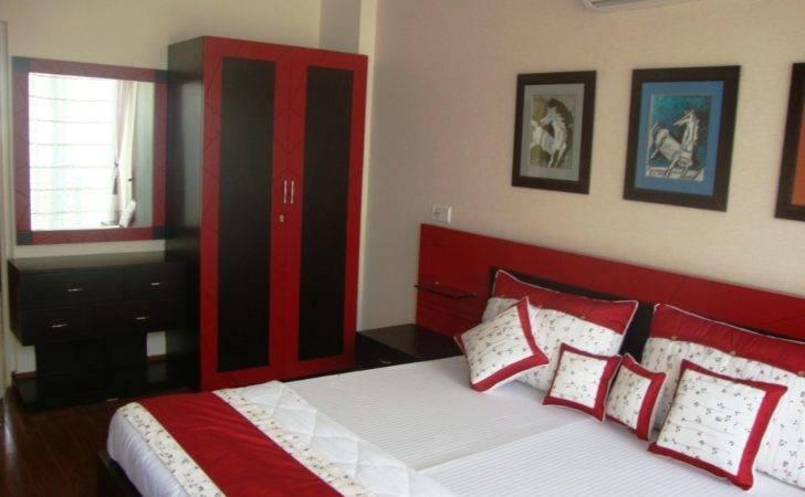 Red Black Interior Design Bedroom Decor Idea