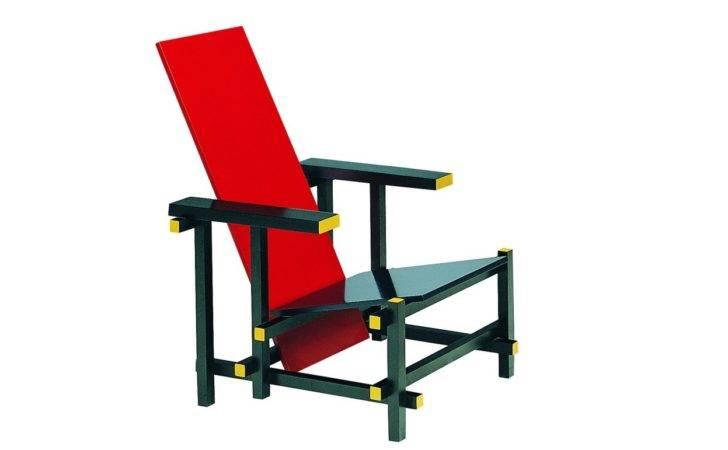 Red Blue Armchair Gerrit Thomas Rietveld