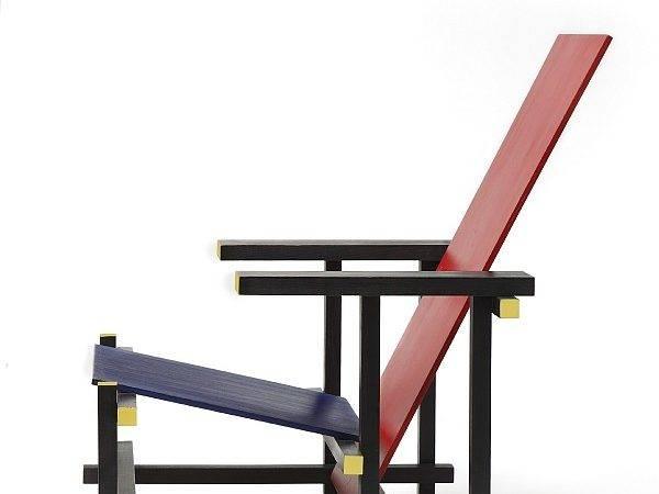 Red Blue Chair Gerrit Rietveld Copyright Cmu
