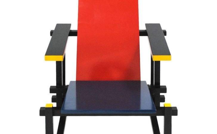 Red Blue Chair Gerrit Thomas Rietveld Cassina