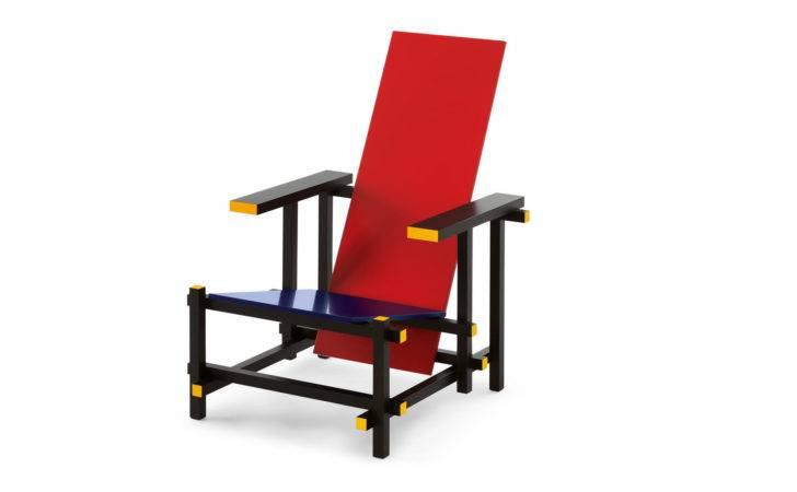 Red Blue Chairs Gerrit Thomas Rietveld Cassina